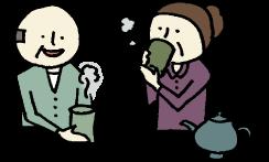 お茶の挿絵